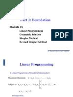 Module 1 Blp Simplex Revised Simplex