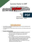 Presentation 1 Erp