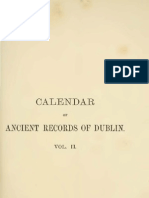 Calendar of the Ancient Documents of Dublin Volume II (1558 - 1610