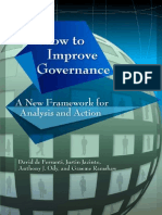 1. How to Improve Governance ~ a New Framework for Analysis and Action ~ David de Ferrant ~ 2009