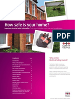 Electircal Safety Council - How Safe is your Home