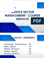 Group 5(Service Sector)....