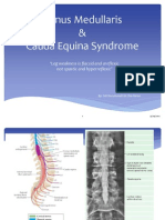 Ortho_conus Medullaris and Cauda Equina Syndrome