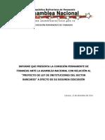 2da Ley Instituciones Sector Bancario