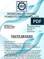 Modelling of Unified Power Flow Controller