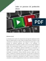 Calidad de vídeo en procesos de producción basados en ficheros
