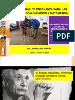 Estrategias de comunicación y matemática - PELA 2012