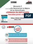 Jornada de reflexión (escuelas ponen metas) MED - PELA 2012