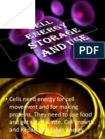 Cell Energy Storage and Use