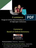 Sekilas Tentang E-commerce