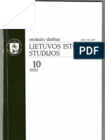 Sotirovic PAX SOVIETICA Lietuvos Istorijos Studijos 2002