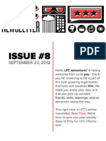LFC Reel Time Newsletter | Issue 8