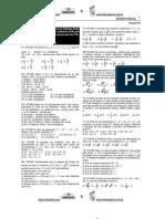 Provas de Matemática do ITA de 1989 até 2005