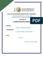 ELABORACIÓN DE QUESO