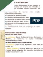 Introdução à Economia - Aula Unidade IV - Mercado Financeiro