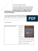 Classroom Management - Scribd
