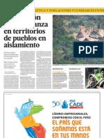 Explotación del gas avanza en territorios de pueblos en aislamiento