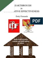 Dody Firmanda 2012 - Breakthrough in Comparative Effectiveness