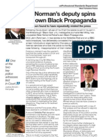 Black Propaganda officer exposed in West Yorkshire Police