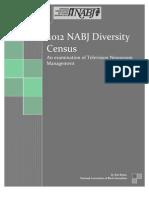 2012 NABJ Broadcast Diversity Census
