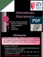 Hemorragia Postsparto