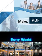 Sony 4P's of Marketing - Marketing Mix