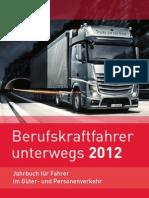 Professional drivers road 2012  [ Berufskraftfahrer unterwegs 2012 ]
