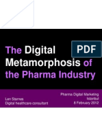 Metamorphosis of Pharma Marketing