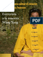 Entrevista Wang Yang Shuxinzhangufa