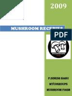 Mushroom Recepie Manual - Mycogroups Mushroom Consultants