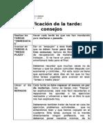 PLANIFICACION DE LA TARDE.doc
