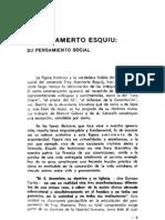 Sacheri 31 - Fray Mamerto Esquiú su pensamiento social