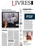 Supplément Le Monde des livres 2012.09.21