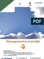 Managementul anxietatii