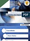 logística de importación