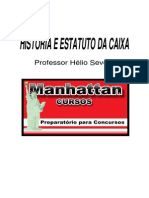 Cef - Historia e Estatuto Da Caixa - 2012