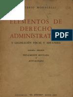ELEMENTOS DE DERECHO ADMINISTRATIVO_ MONACELLI, GUALTERIO