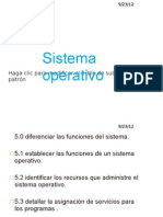 Diferenciar Las Funciones Del Sistema Operativo.