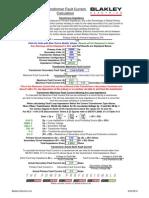 Transformer Fault Current Calculation