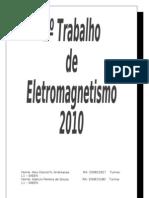 1º Trabalho de Eletromagnetismo
