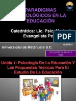 CONCEPTOS BASICOS EN PSICOLOGIA DE LA EDUCACIÓN