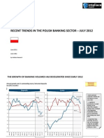 RECENT TRENDS IN THE POLISH BANKING SECTOR – JULY 2012