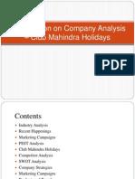 CompanyAnalysis Club Mahindra