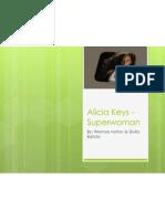 Alicia Keys - Superwoman Analysis