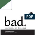 BaD Programmheft Neu