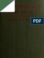 1917 - Roumania's Cause & Ideals - Magnus - 188