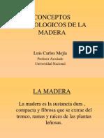 Conferencia Maderas
