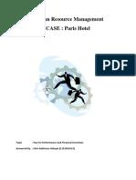 Human Resource Management Case Chapter 12 (Irfan Rakhman Hidayat) 1101001014