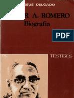 Delgado, Jesus - Oscar Arnulfo Romero, Biografia
