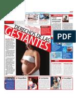Embarazada. Conoce tus derechos, evita abusos y cuida la salud de tu bebé